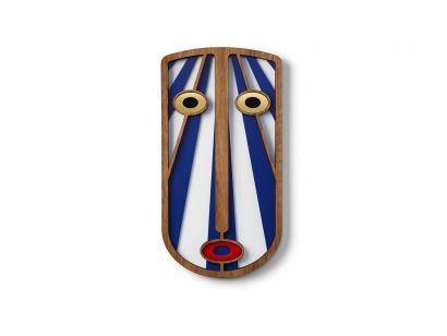 Modern African Mask #38 Masque Mural Medium