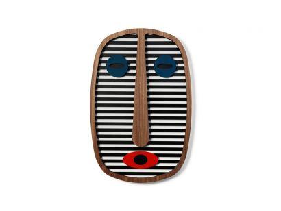 Modern African Mask #1Masque Mural Medium