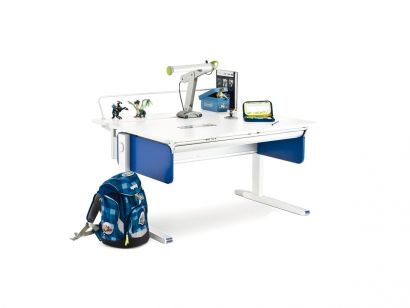 Champion Front Up Desk - Blue