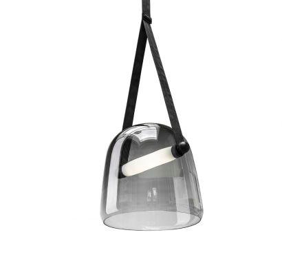 Mona Large Suspension Lamp Grey