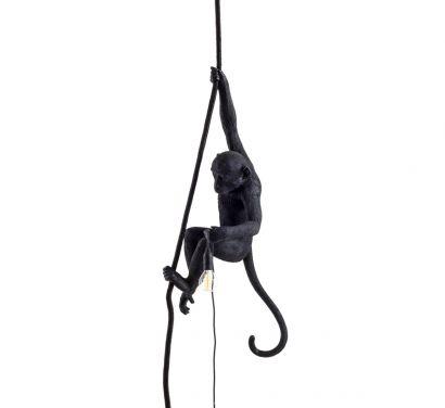 Monkey Lamp Black - Ceiling Outdoor