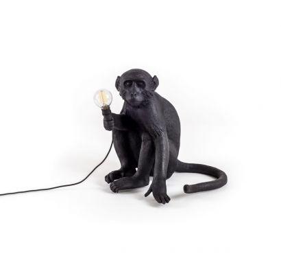 Monkey Lamp - Sitting Outdoor