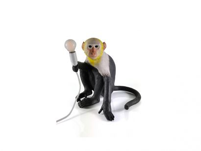 Monkey Seated Table Lamp Indoor Limited Edition