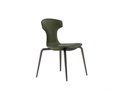 Montera Chair - Pelle Frau® SC Muschio / Saddle Extra Testa di Moro