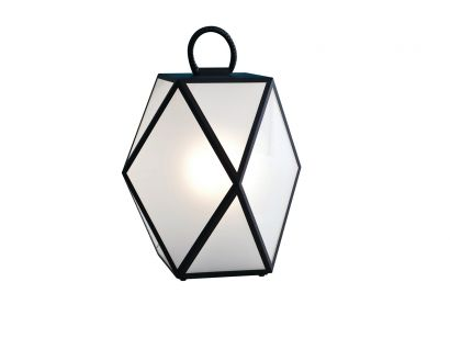 Muse Large Outdoor Lamp - Black