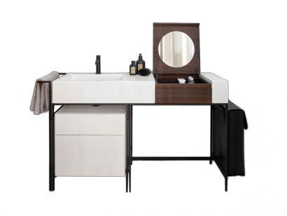 Narciso Vanity Bathroom Sink and Vanity Modular System