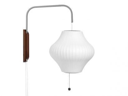 Nelson Pear Sconce Cabled S/Off White Wall Lamp Hay