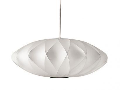 Nelson Saucer Crisscross Bubble Suspension Lamp