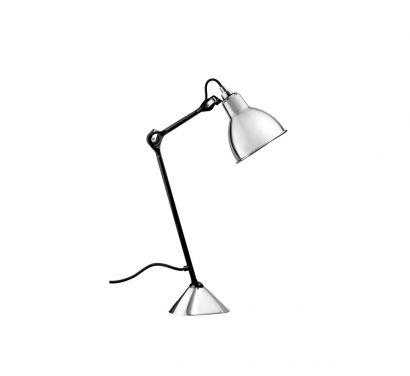 N°205 Satin Black Table Lamp