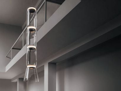 Noctambule 3 Low Cylinders & Cone F0271000 Suspension Lamp