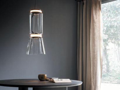 Noctambule 1 Low Cylinder & Cone F0268000 Suspension Lamp