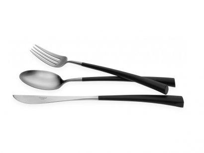Noor Set 24 Cutlery + Wood Chest
