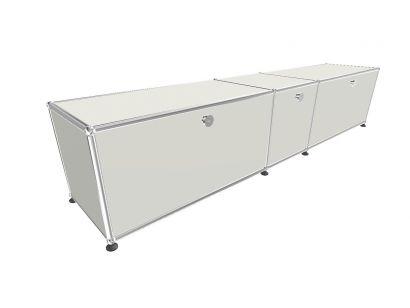 Haller TV Cabinet 5 with Flap Doors