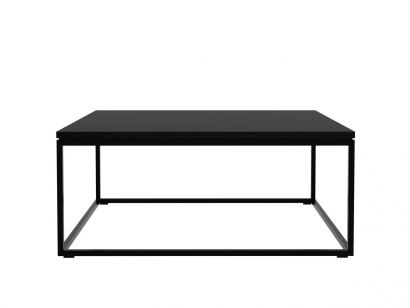 Oak Thin Coffee Table – Black