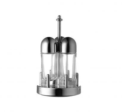 Oil, vinegar, salt and pepper service - Stainless Steel - 5070