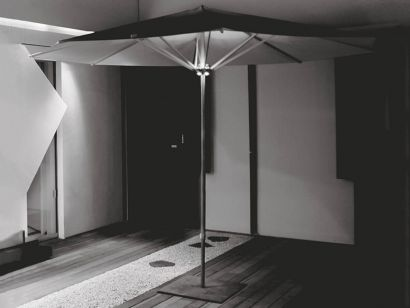 Ombrella Outodoor Rated Floor Standing Light Fitting