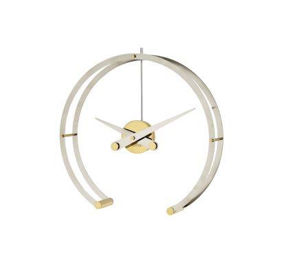 Omega Orologio da Tavolo - Ottone Lucido