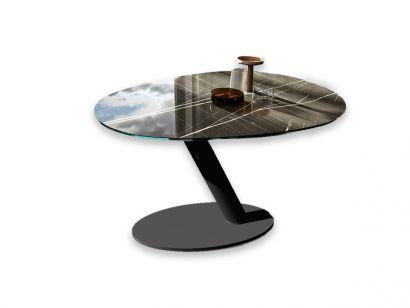 One Tavolo Allungabile - Sahara Noir Crylam Marble Glass / Bronzo