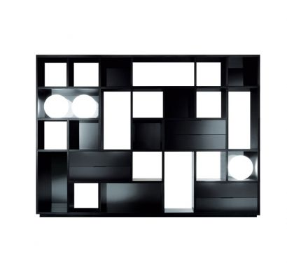 Opus Double-Sided Bookcase