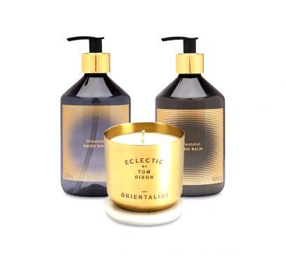 Orientalist Medium Candle Gifset - Set da bagno