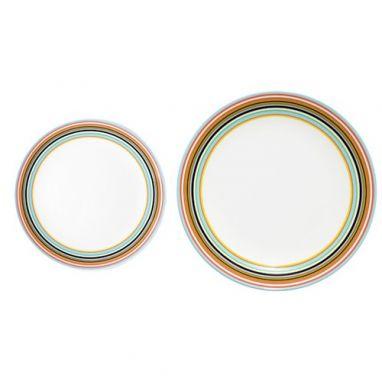 Origo Plate Orange Ø 20 cm