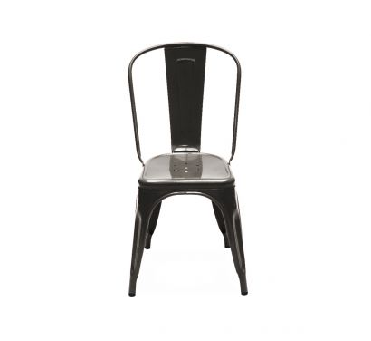 A Chair Outdoor - Janvier1 Acciaio Grezzo Verniciato