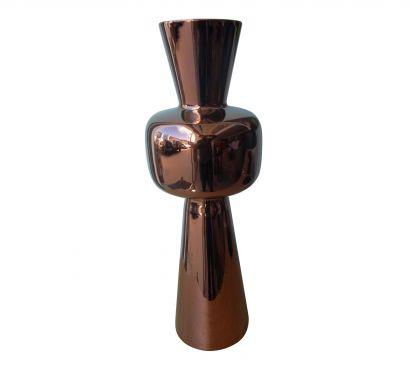 Paire Vase - Paunchy Copper