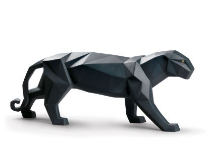 Lladrò Panther Figurine