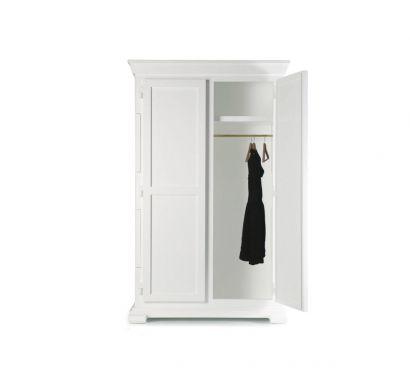Paper Wardrobe White Wood