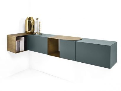 Partout Wall Unit-Siderboard