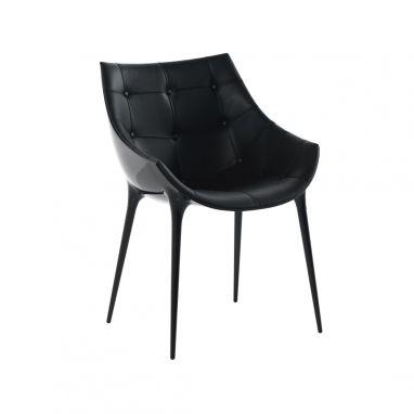 246 Passion Dining Armchair - Big Bang 13E815 / Matt Black
