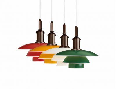 PH 3½-3 Suspension Lamp Colored Version