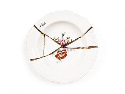 Kintsugi Soup Plate 09622