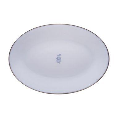 Feston e Cadena Azzurro Plat Ovale 26 cm x 17,5 cm
