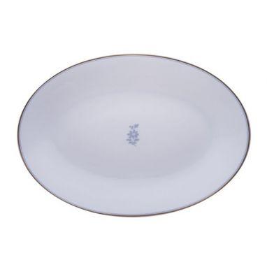 Feston e Cadena Azzurro Plat Ovale  32 cm x 21 cm