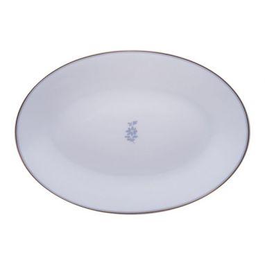 Feston e Cadena Azzurro Plat Ovale 37 cm x 26,5 cm