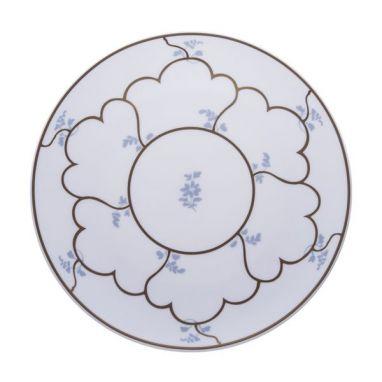 Feston e Cadena Azzurro Assiette Plate Ø 28