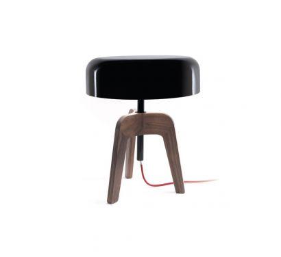 Pileo Bassa - Lampada da tavolo in legno