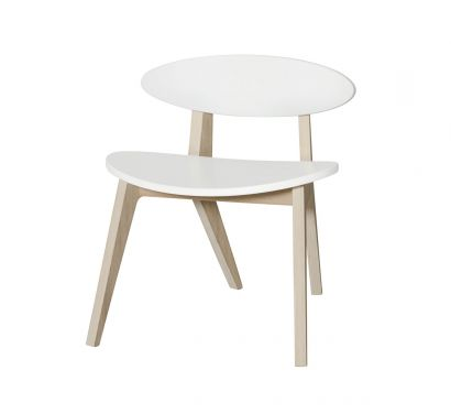 PingPong Chair for Kids-Oak/White