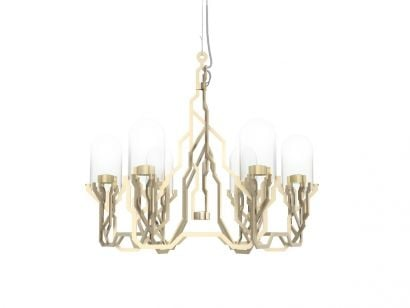Plant Chandelier Suspension Lamp