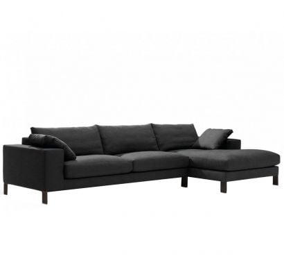 Plaza Sofa + Chaise Longue