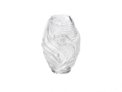 Poissons Combattants Vase - Clear