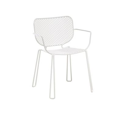 Ivy Stackable Armchair - white
