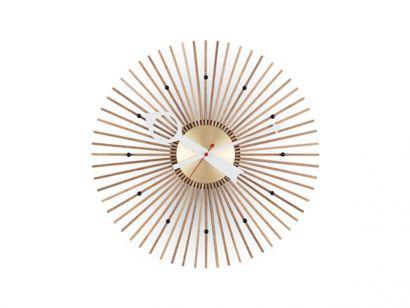Popsicle Walnut Wall Clock