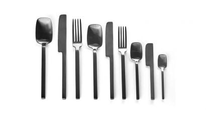Heii Anthracite Collection of Cutlery by Marcel Wolterinck