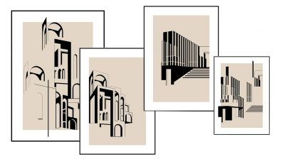 Neues Museum / Casa Sublim - Limited Edition Illstruation