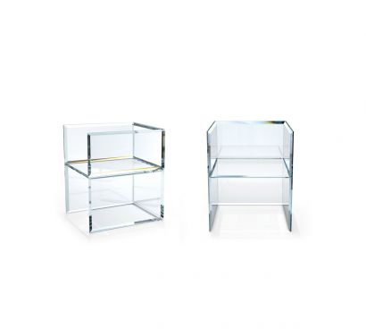 Prism Glass Chair
