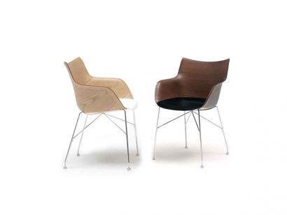 Q/Wood Chaise