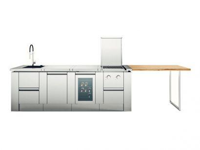 R1 outdoor kitchen by Rok - Steel