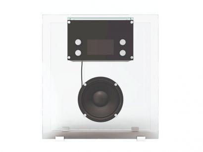 842 Radio in Cristallo Cassina by Franco Albini